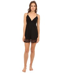 Only Hearts Club Venice Chemise Black Women's Pajama