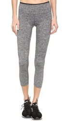 Koral Activewear Mystic Capri Leggings Heather Grey