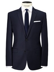 Richard James Mayfair Pick And Pick Suit Jacket Navy