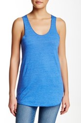 Alternative Apparel Apparel Meegs Racer Tank Blue