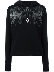 Marcelo Burlon County Of Milan Tiger Print Hoodie Black