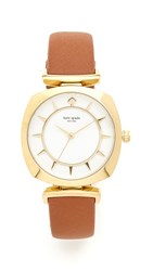 Kate Spade Barrow Watch Brown Gold