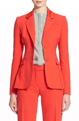Women's Altuzarra 'Fenice' Textured Blazer With Fraying Fringe