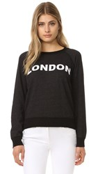 Monrow London Vintage Sweatshirt Black