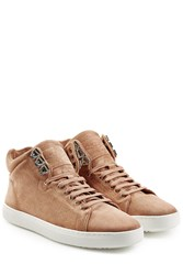 Rag And Bone Rag And Bone Kent High Top Suede Sneakers Brown