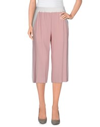 Marco Bologna Trousers 3 4 Length Trousers Women Light Pink