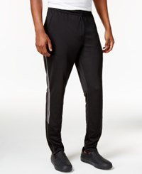 Calvin Klein Men's Side Stripe Track Pants Black