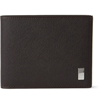 Alfred Dunhill Side Car Textured Leather Billfold Wallet Brown