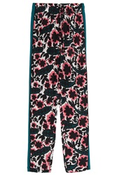 Raoul Silk Printed Wide Pant