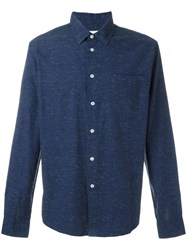 Soulland 'Huttnutt' Shirt Blue