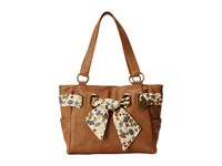 American West Bandana Signature Collection Carry All Tote Tan Handbags