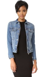 Zadig And Voltaire Kioky Authentic Denim Jacket Bleu