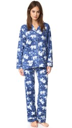 Pj Salvage Elephants Set Navy