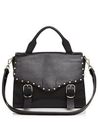 Rebecca Minkoff Biker Doctor Satchel Black Gold