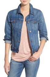 Women's Madewell Cotton Jean Jacket Pinter Wash