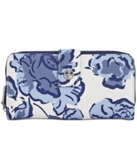 Giani Bernini Floral All In One Wallet Only At Macy's Chambray Multi