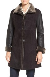 Blue Duck Women's Fitted Genuine Shearling Coat