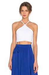 Donna Mizani Triangle Top White