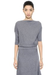 J.W.Anderson Twisted Merino Wool Knit Sweater