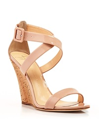 Giuseppe Zanotti Open Toe Platform Wedge Sandals Coline Cork Bloomingdale's Exclusive