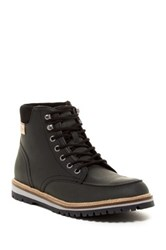 Lacoste Montbard Lug Boot Black
