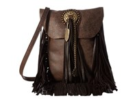 Leather Rock Hk32 Chocolate Handbags Brown