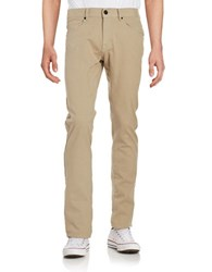 Miscellaneous Slim Fitting Jeans Beige
