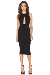 Nookie Sweet Life High Neck Dress Black