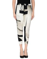 Lost And Found Lost And Found Trousers 3 4 Length Trousers Women