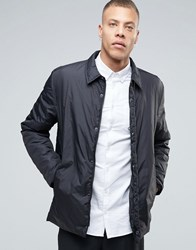 Selected Homme Plus Light Weight Shirt Jacket Black