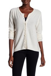 Inhabit Cashmere Cardigan White