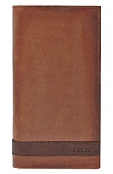 Fossil 'Quinn' Executive Wallet Brown