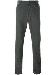 Canali Regular Jeans Grey
