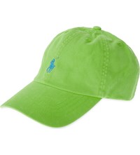 Ralph Lauren Classic Cotton Baseball Cap Oasis Green