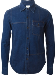 Band Of Outsiders Denim Shirt Blue