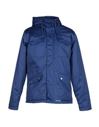 Elvine Jackets Slate Blue