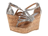 Not Rated Twin Lakes White Women's Wedge Shoes
