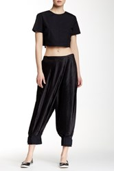 Marc By Marc Jacobs Pleated Pant Black