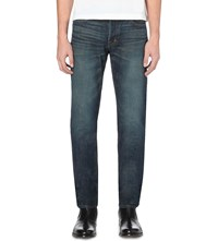 Tom Ford Slim Fit Tapered Selvedge Jeans Blue