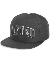 Lrg Men's Lifted Embroidered Snapback Hat