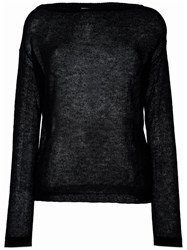 Forte Forte Loose Knit Jumper Black