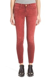 Women's Current Elliott 'The Stiletto' Stretch Skinny Corduroy Pants