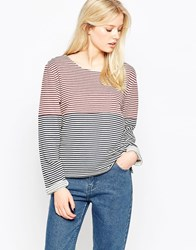 Native Youth Cut And Sew Bretton Top Red