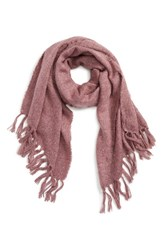 David And Young Women's Boucle Scarf Mauve