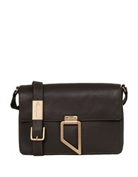 Foley Corinna Valerie Leather Shoulder Bag Luna Smoke