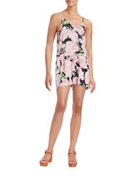 French Connection Holiday Romper Pink Multi