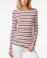 Rachel Rachel Roy Striped Long Sleeve T Shirt