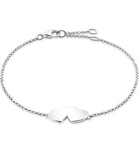 Thomas Sabo Classic Sterling Silver Intertwined Heart Bracelet