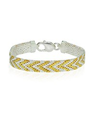 Lord And Taylor 18K Gold Plated Sterling Silver Bracelet
