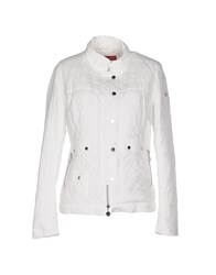 Diana Gallesi Coats And Jackets Jackets Women White